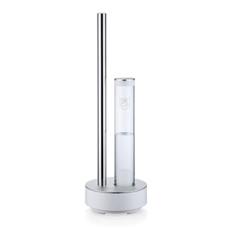 常識を覆す除菌消臭剤と独創的なデザイン加湿器のコラボレーション「空間を洗う®」ピーズガード専用器のフラッグシップモデルPG-E620
